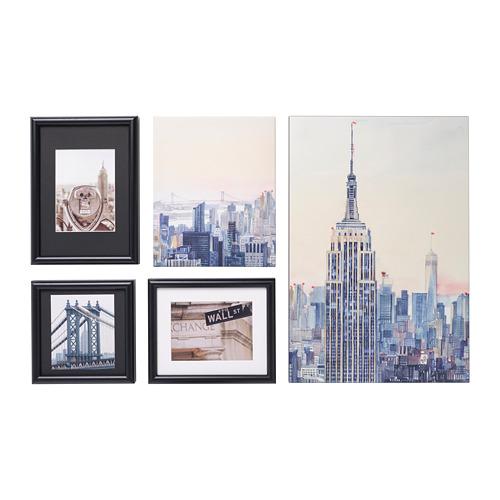 RAMHÄLL - 畫,5件套裝, New York, I love you   IKEA 香港及澳門 - PE821727_S4