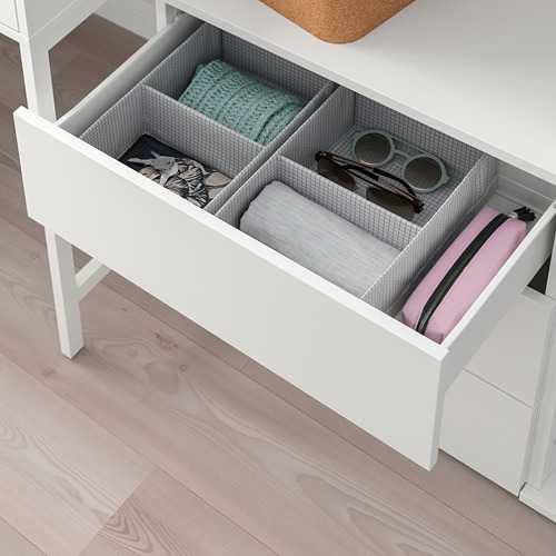 PLATSA - storage comb w 6 doors+3 drawers, white/Fonnes white | IKEA Hong Kong and Macau - PE766206_S4