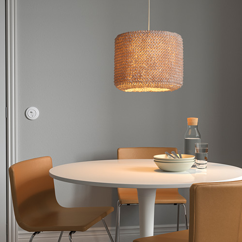 LERGRYN - 燈罩, 針織 米黃色/手製 | IKEA 香港及澳門 - PE821768_S4