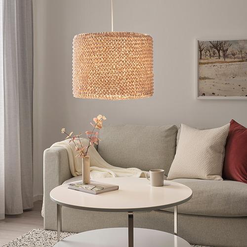 LERGRYN - 燈罩, 針織 米黃色/手製 | IKEA 香港及澳門 - PE821766_S4