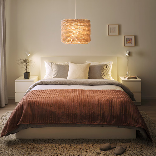 LERGRYN - 燈罩, 針織 米黃色/手製 | IKEA 香港及澳門 - PE821767_S4