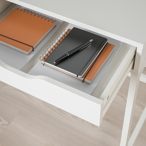 ALEX - desk, 131x58x76 cm, white | IKEA Hong Kong and Macau - PE821754_S4