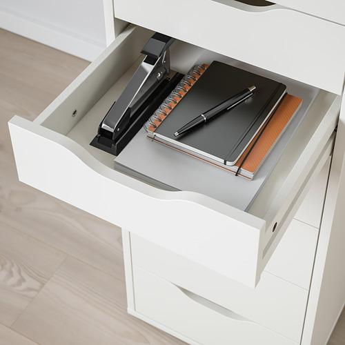 ALEX - 九格抽屜組合, 36x48x116 cm, 白色   IKEA 香港及澳門 - PE821786_S4