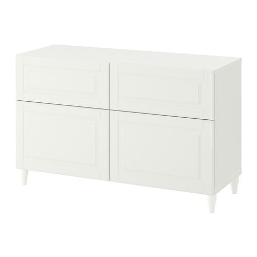 BESTÅ - storage combination w doors/drawers, white/Smeviken/Kabbarp white | IKEA Hong Kong and Macau - PE782421_S4