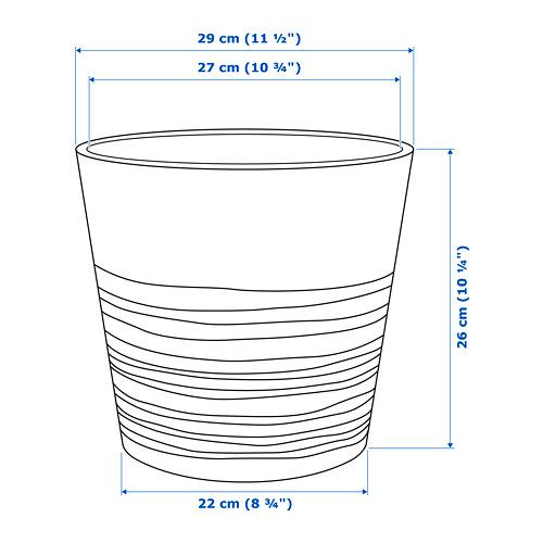 MUSKOT - plant pot, white   IKEA Hong Kong and Macau - PE717289_S4