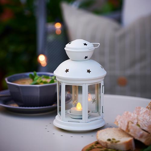 ROTERA - 小蠟燭燈座, 室內/戶外用 白色   IKEA 香港及澳門 - PE766267_S4