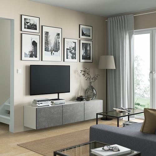 BESTÅ - 電視几連門, white/Kallviken dark grey | IKEA 香港及澳門 - PE821918_S4