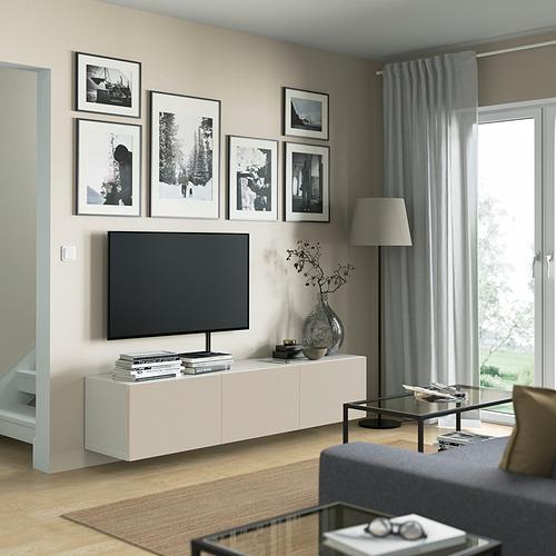 BESTÅ - 電視几連門, white/Lappviken light grey/beige   IKEA 香港及澳門 - PE821922_S4