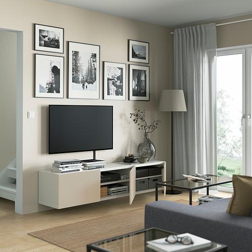 BESTÅ - 電視几連門, white/Lappviken light grey/beige   IKEA 香港及澳門 - PE821952_S4