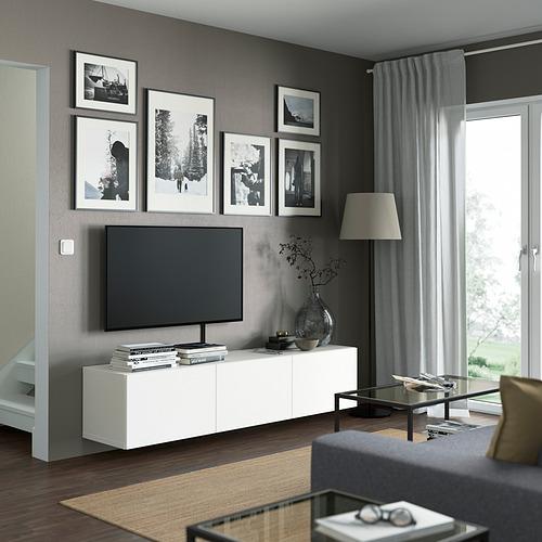 BESTÅ - 電視几連門, white/Laxviken white | IKEA 香港及澳門 - PE821924_S4