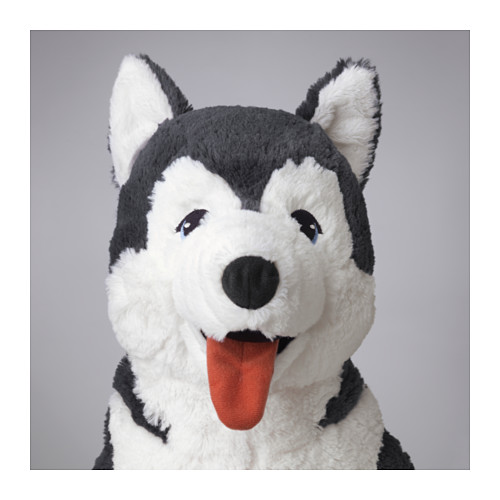 LIVLIG - 毛公仔, 狗/西伯利亞雪橇犬 | IKEA 香港及澳門 - PE562358_S4