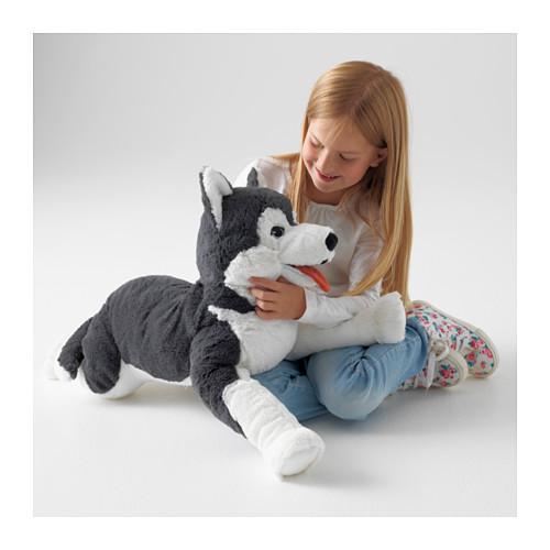 LIVLIG - 毛公仔, 狗/西伯利亞雪橇犬 | IKEA 香港及澳門 - PE562363_S4