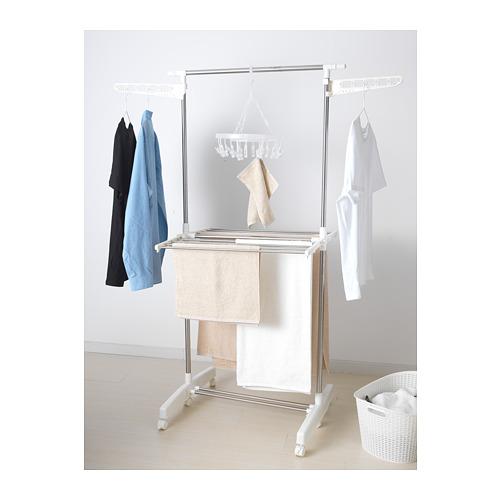 PURKLA - drying rack, 2 levels | IKEA Hong Kong and Macau - PE676442_S4