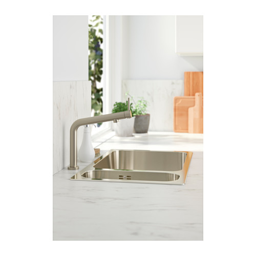 BOSJÖN - kitchen mixer tap, stainless steel colour   IKEA Hong Kong and Macau - PH136990_S4