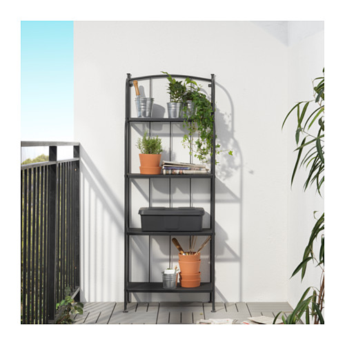LÄCKÖ - shelving unit, outdoor, grey | IKEA Hong Kong and Macau - PE628788_S4