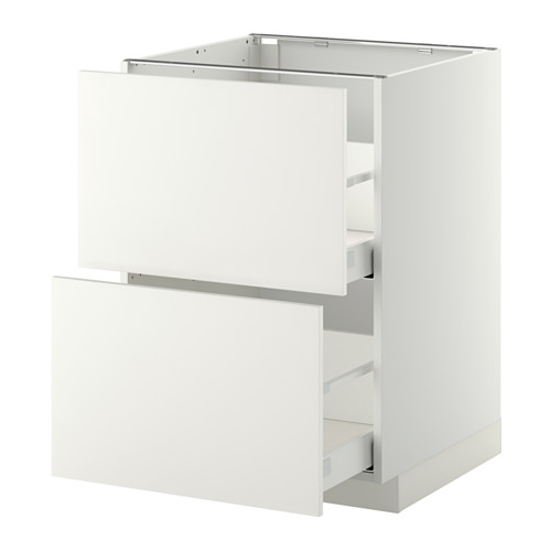 METOD base cb 2 fronts/2 high drawers