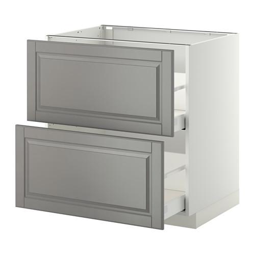 METOD - 廚櫃組合, 白色 Maximera/Bodbyn 灰色 | IKEA 香港及澳門 - PE350797_S4