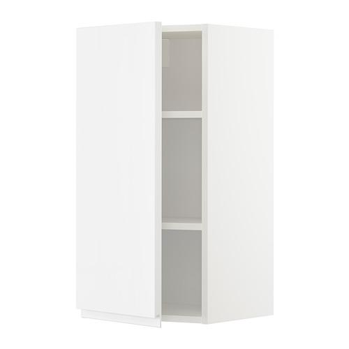 METOD - wall cabinet with shelves, white/Voxtorp high-gloss/white | IKEA Hong Kong and Macau - PE676745_S4
