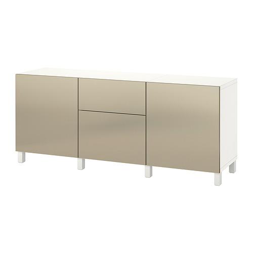 BESTÅ - storage combination with drawers, white Riksviken/light bronze effect | IKEA Hong Kong and Macau - PE822493_S4