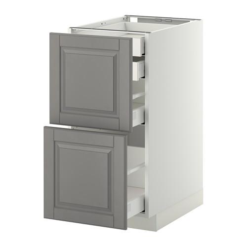 METOD - 廚櫃組合, 白色 Maximera/Bodbyn 灰色 | IKEA 香港及澳門 - PE350832_S4