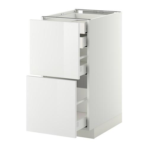 METOD - base cb 2 frnts/2 low/1 md/1 hi drw, white Maximera/Ringhult white | IKEA Hong Kong and Macau - PE350846_S4