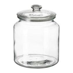 VARDAGEN - jar with lid, clear glass | IKEA Hong Kong and Macau - PE580602_S3