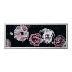 BJÖRKSTA - picture with frame, pink petals/aluminium-colour   IKEA Hong Kong and Macau - PE822533_S3