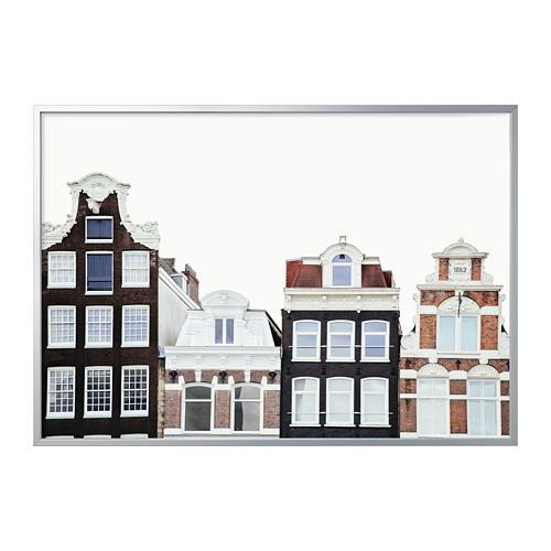 BJÖRKSTA - 畫連框, 阿姆斯特丹的建築/鋁色 | IKEA 香港及澳門 - PE822537_S4