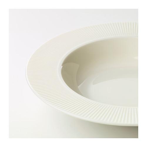 OFANTLIGT - deep plate, white | IKEA Hong Kong and Macau - PE628876_S4
