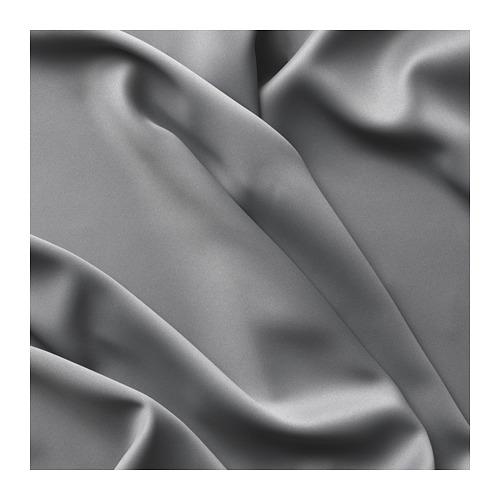 MAJGULL - 遮光窗簾,一對, 灰色 | IKEA 香港及澳門 - PE676985_S4