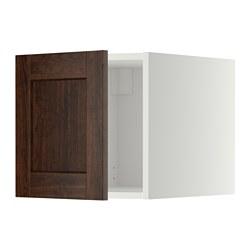 METOD - 頂櫃, 白色/Edserum 褐色   IKEA 香港及澳門 - PE352883_S3