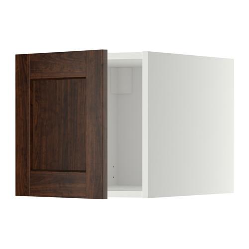 METOD - top cabinet, white/Edserum brown | IKEA Hong Kong and Macau - PE352883_S4