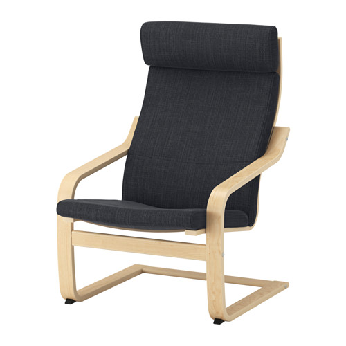 POÄNG - armchair, birch veneer/Hillared anthracite | IKEA Hong Kong and Macau - PE628947_S4