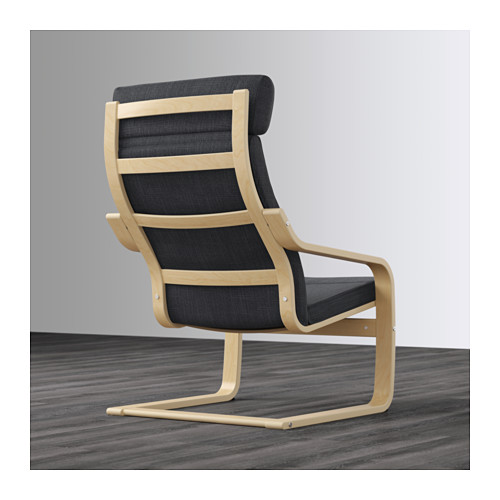 POÄNG - armchair, birch veneer/Hillared anthracite | IKEA Hong Kong and Macau - PE628950_S4
