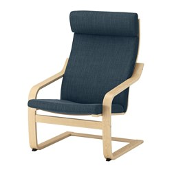 POÄNG - armchair, birch veneer/Hillared dark blue | IKEA Hong Kong and Macau - PE628957_S3