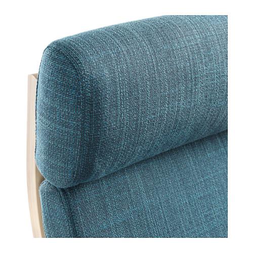 POÄNG - armchair, birch veneer/Hillared dark blue | IKEA Hong Kong and Macau - PE628959_S4