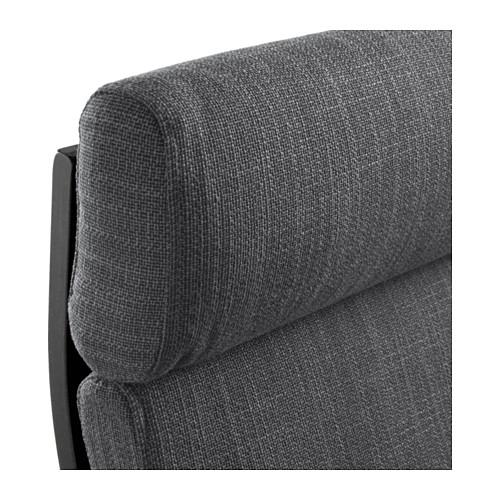 POÄNG - armchair, black-brown/Hillared anthracite   IKEA Hong Kong and Macau - PE628964_S4