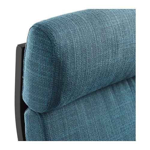POÄNG - armchair, black-brown/Hillared dark blue | IKEA Hong Kong and Macau - PE628974_S4