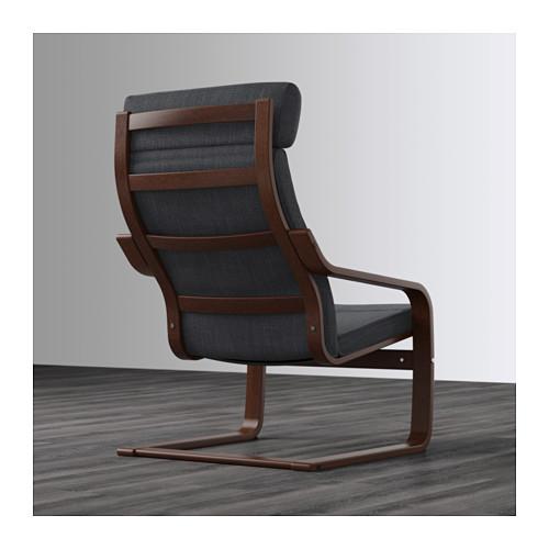 POÄNG - armchair, brown/Hillared anthracite | IKEA Hong Kong and Macau - PE628980_S4