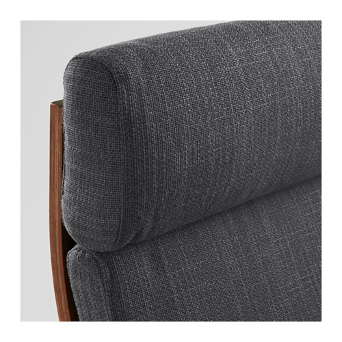 POÄNG - armchair, brown/Hillared anthracite | IKEA Hong Kong and Macau - PE628979_S4