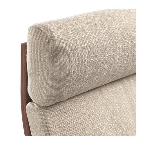 POÄNG - armchair, brown/Hillared beige   IKEA Hong Kong and Macau - PE628984_S4