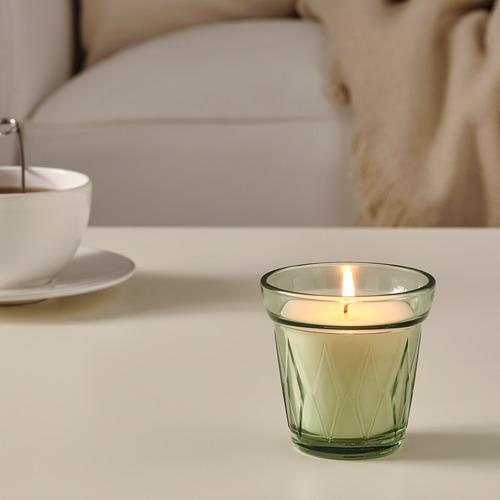 VÄLDOFT - 杯裝香味蠟燭, /淺綠色   IKEA 香港及澳門 - PE767308_S4