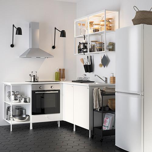 ENHET - 角位廚房, 白色 | IKEA 香港及澳門 - PE822612_S4