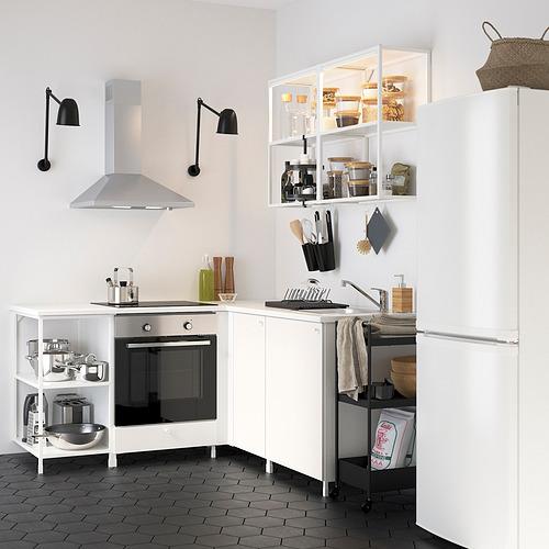 ENHET - corner kitchen, white   IKEA Hong Kong and Macau - PE822613_S4