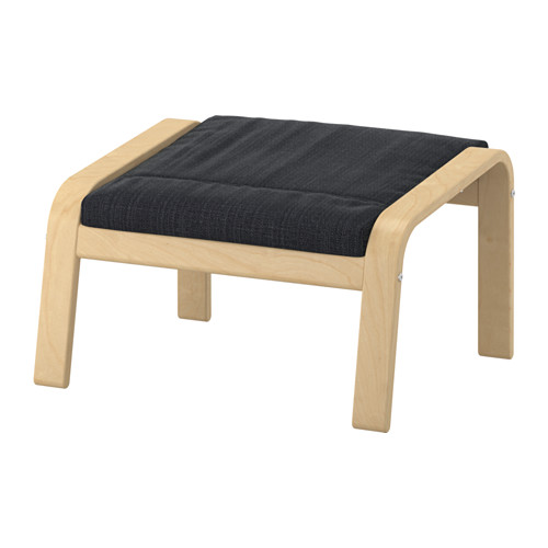 POÄNG - footstool, birch veneer/Hillared anthracite | IKEA Hong Kong and Macau - PE629066_S4
