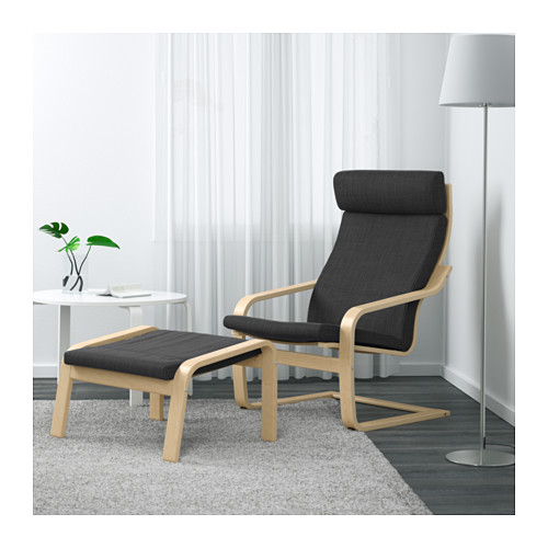 POÄNG - armchair, birch veneer/Hillared anthracite | IKEA Hong Kong and Macau - PE629068_S4