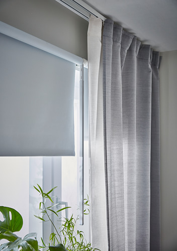 FRIDANS - block-out roller blind,  80x195cm, white | IKEA Hong Kong and Macau - PH162939_S4
