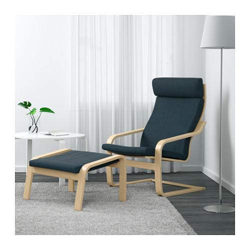 POÄNG - armchair, birch veneer/Hillared dark blue | IKEA Hong Kong and Macau - PE629080_S4