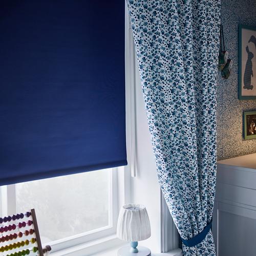 FRIDANS - 遮光捲軸簾, 80x195cm, 藍色 | IKEA 香港及澳門 - PH159065_S4