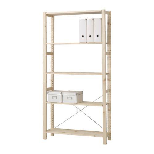 IVAR - shelving unit, 89x30x179cm, pine   IKEA Hong Kong and Macau - PE175689_S4